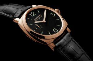 The 42 mm replica Panerai Radiomir 1940 PAM00575 watches have black dials.