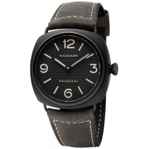 The sturdy copy Panerai Radiomir PAM00643 watches are made from ceramic.