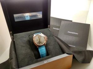 The famous copy Panerai Luminor Due PAM00677 watches are worth for men.