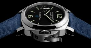 The sturdy replica Panerai Luminor Marina Logo PAM00777 watches are made from stainless steel.