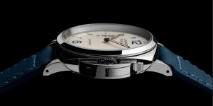 The durable fake Panerai Luminor Due PAM00903 watches are made from stainless steel.