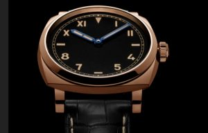 The 42 mm replica Panerai Radiomir 1940 PAM00740 watches have black dials.