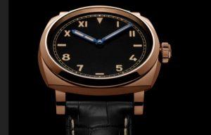 The 42 mm replica Panerai Radiomir 1940 PAM00740 watches have black dials.