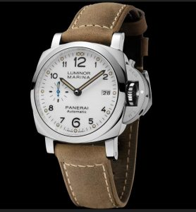 The durable copy Panerai Luminor 1950 PAM01523 watches can guarantee water resistance to 100 meters and have 3 days power reserve.
