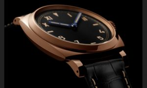 The luxury fake Panerai Radiomir 1940 PAM00740 watches are made from red gold.
