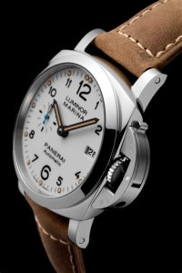 The sturdy fake Panerai Luminor Marina 1950 PAM01523 watches are made from stainless steel.