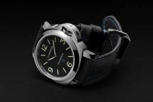 The fabric fake Panerai Luminor PAM00774 watches are made from stainless steel.