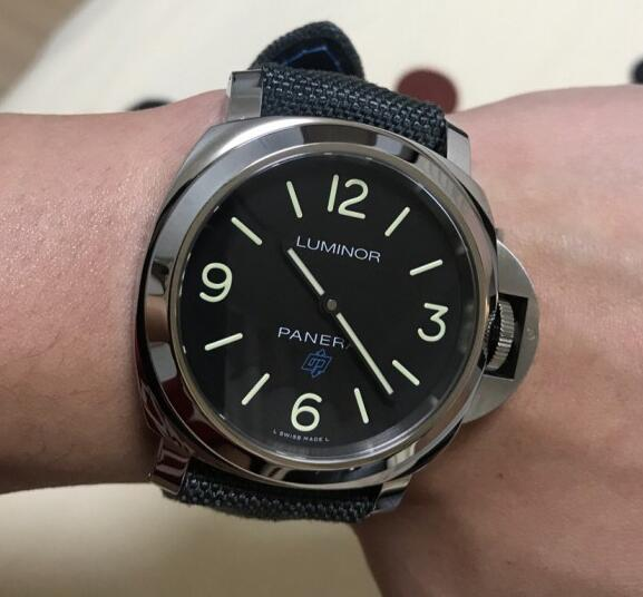 The Panerai is much more recognizable than my Blancpain.
