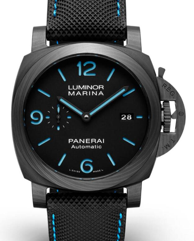 Swiss knock-off watches forever are cool with black design.