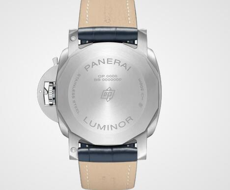 The automatic Panerai provides 3 days power reserve.