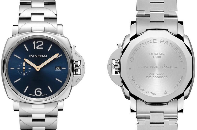 1:1 imitation watches provide 42mm cases for men.