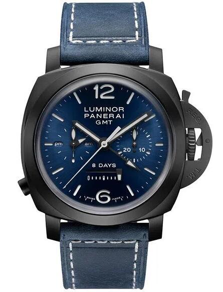 AAA copy watches keep decent for men with 44mm in diameter.